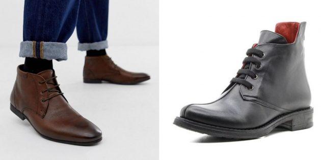 Классическая обувь: чукка