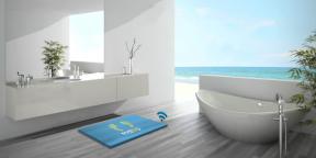 Умный коврик для ванной Mateo даёт персональные советы по диете и тренировкам