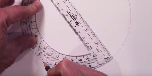 Как нарисовать звезду: сделайте четвёртую отметку