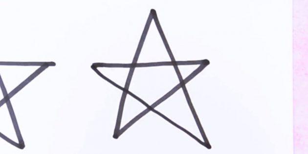 Как нарисовать звезду, не отрывая руки от бумаги