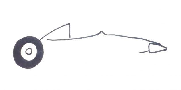 Как нарисовать гоночную машину: нарисуйте переднюю часть