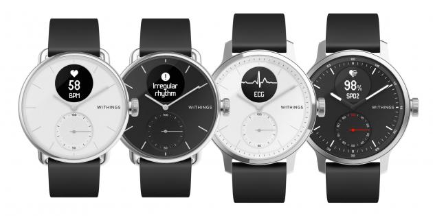 ScanWatch — гибридные смарт-часы от бывшей Nokia Health