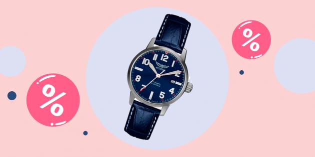 Промокоды дня: скидка 10% на часы Aviator в Bestwatch