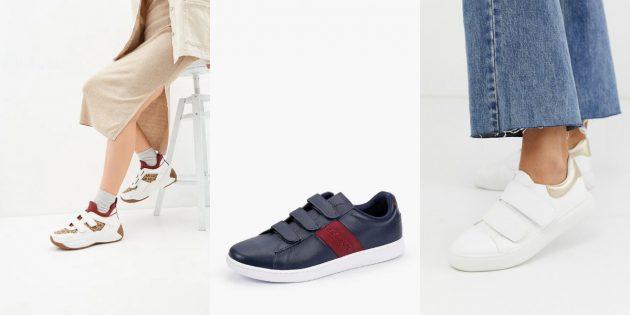 Модные женские кроссовки: кроссовки «из детства»