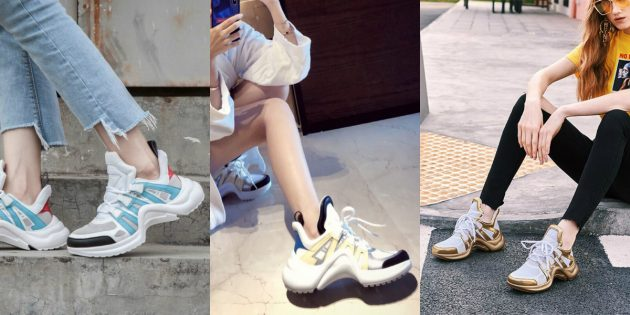 Модные кроссовки: «уродливые» кроссовки