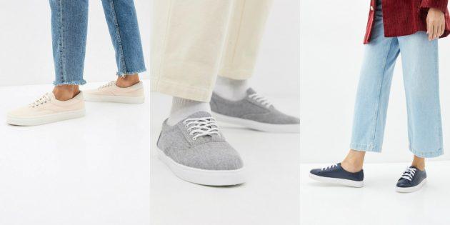 Модные кроссовки — 2020: минималистичные ретрокеды