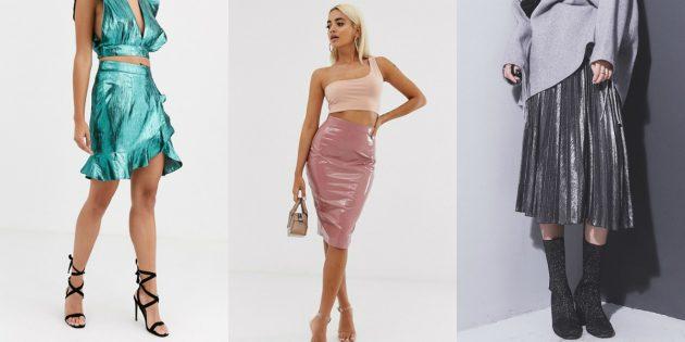 Модные юбки — 2020: юбки в стиле диско