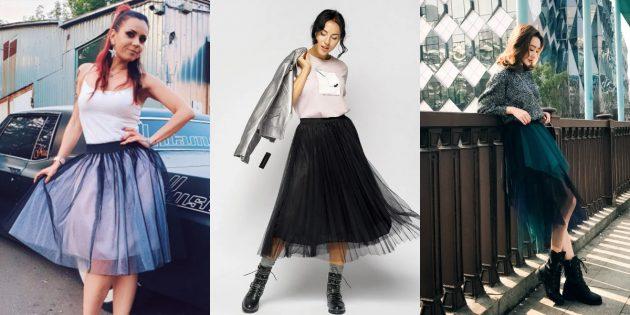 Модные юбки-пачки — 2020