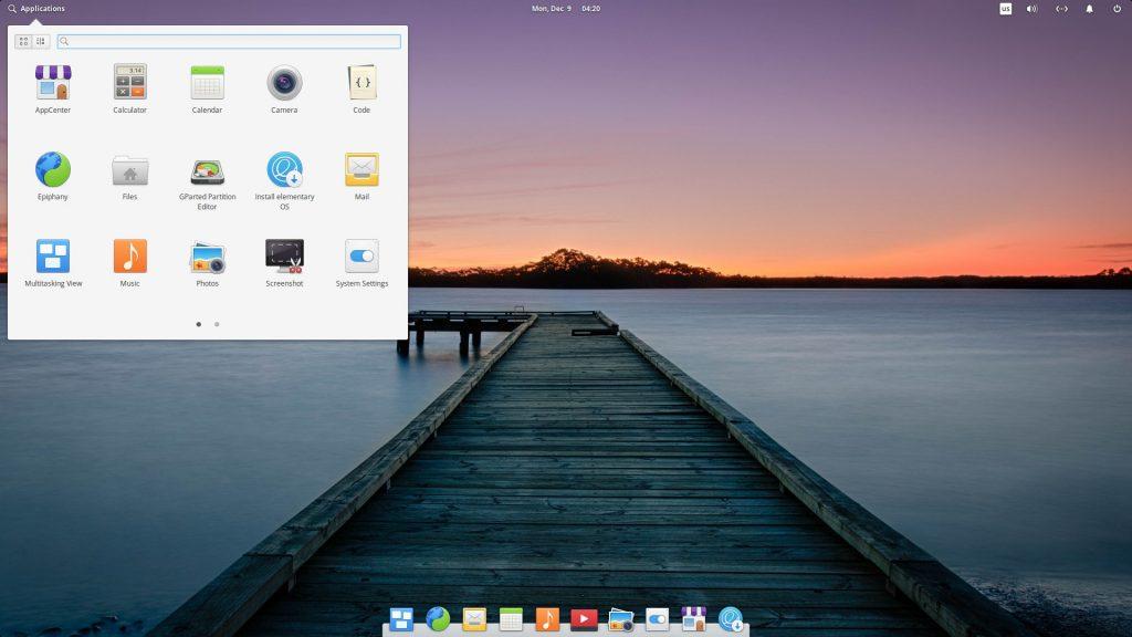 Дистрибутивы Linux: elementary OS