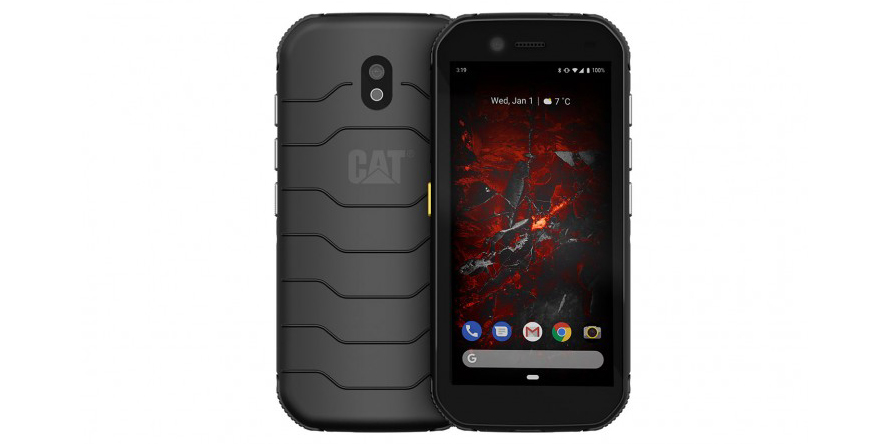 Cat S32 — компактный неубиваемый смартфон с Android 10 на борту