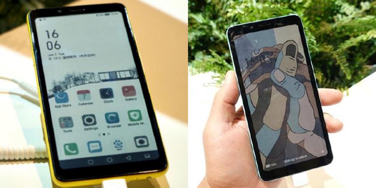 Hisense Color — первый в мире смартфон с цветным e-ink дисплеем