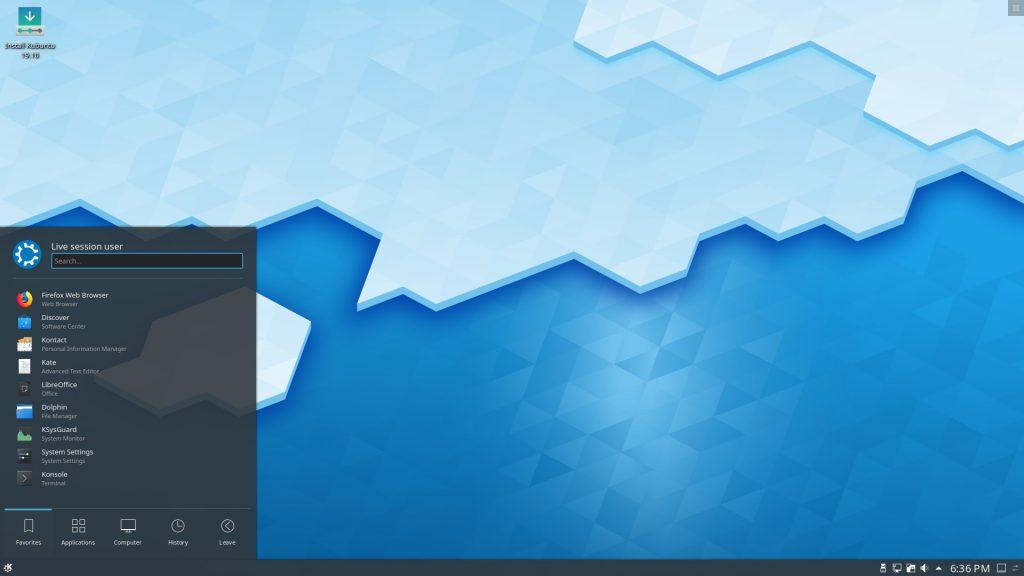 Дистрибутивы Linux: Kubuntu