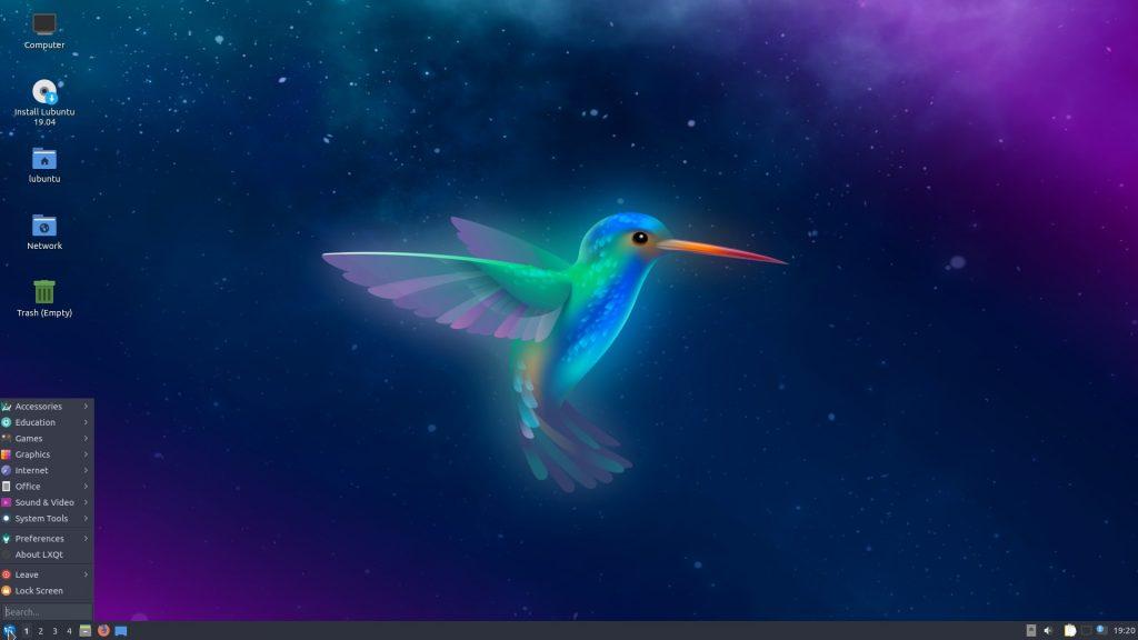 Дистрибутивы Linux: Lubuntu