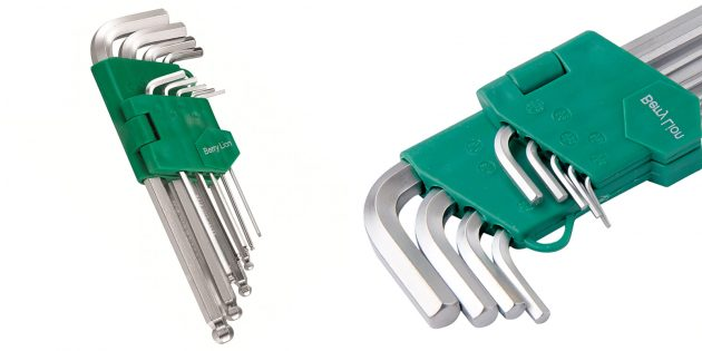 Набор имбусовых ключей