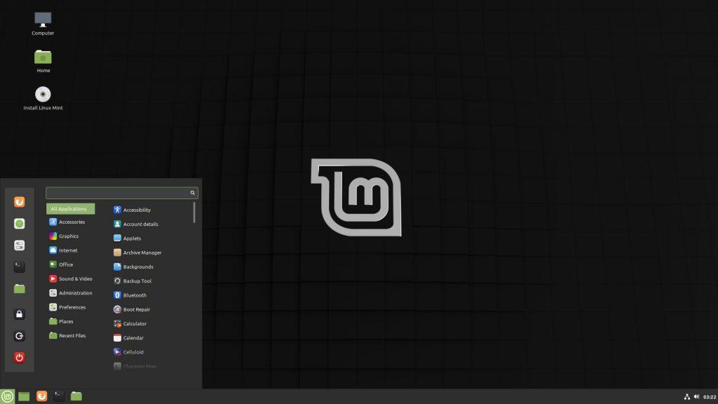 Дистрибутивы Linux: Linux Mint