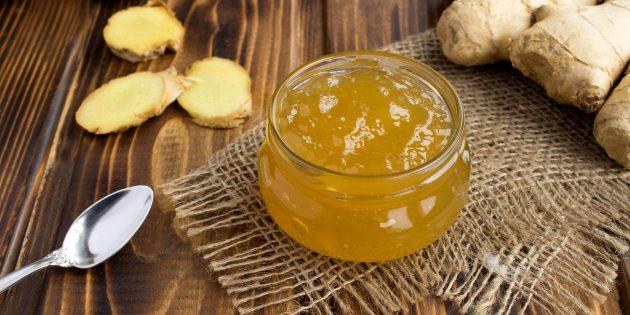 Имбирный джем с лимонным соком