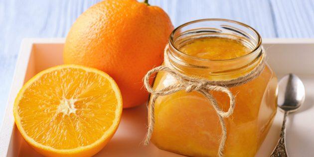 Апельсиновый джем с имбирём