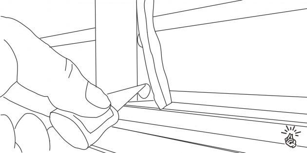 Ремонт шкафа-купе: что делать, если отклеилась демпферная лента