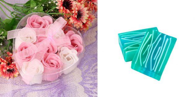 Недорогие подарки на 8 Марта: мыло