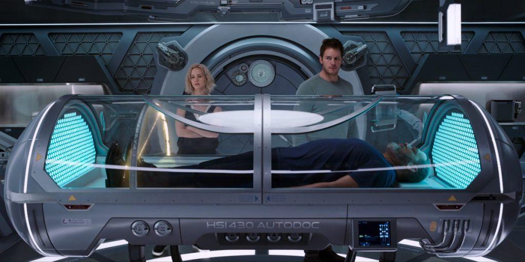 Изобретения из фильмов: капсула для диагностики здоровья из «Пассажиров»