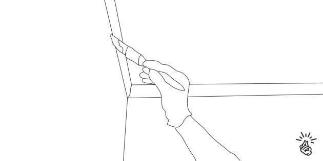 Покраска стен: сделайте отводку углов