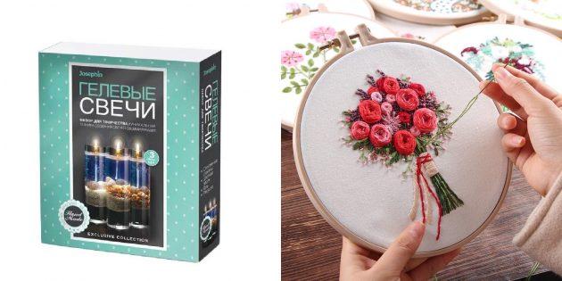 Подарки маме на 8марта: Набор для рукоделия