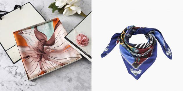 Что подарить маме на 8 Марта: Палантин или шарф