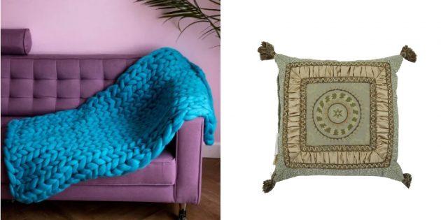 Подарки маме на 8 марта: Текстиль для дома