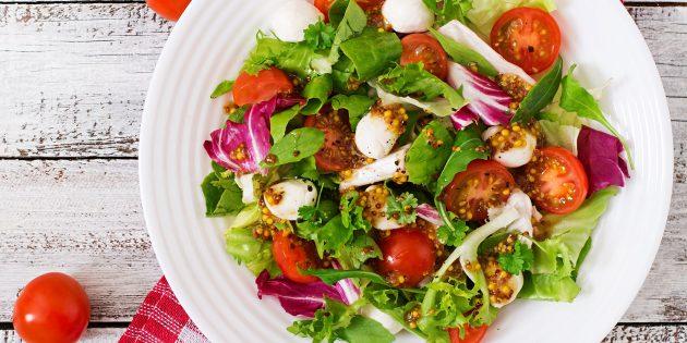 10 appetitnyh salatov s mocarelloj dlya nastoyashchih gurmanov