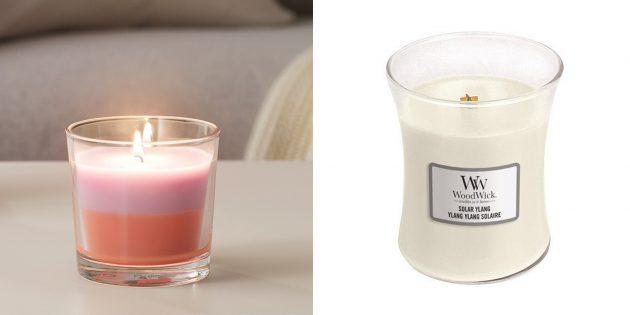 Что подарить подруге на день рождения: ароматическая свеча