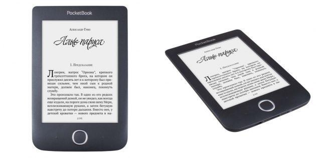 Хорошие электронные книги: PocketBook 614 Plus