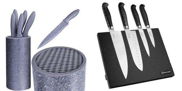 Что подарить подруге на день рождения: набор поварских ножей