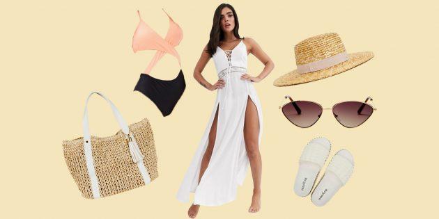 Одежда на море для пляжа