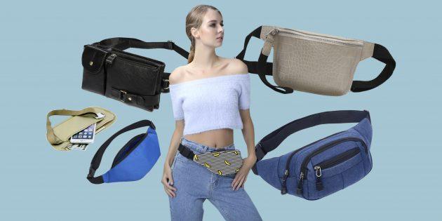 20 классных поясных сумок с AliExpress