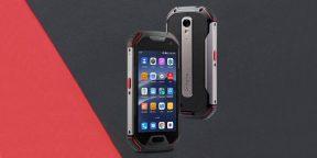 Штука дня: Unihertz Atom XL — неубиваемый смартфон с 4-дюймовым экраном, Android 10 и NFC
