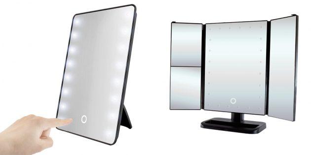 Что подарить подруге на 8марта: зеркало с подсветкой