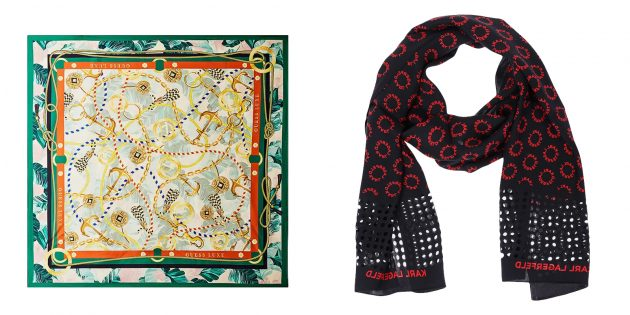Подарок подруге на день рождения: шёлковый шарф