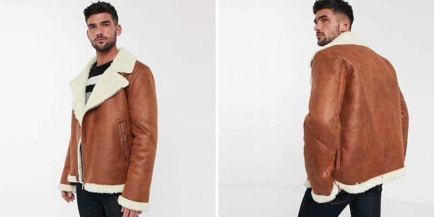 Байкерская куртка от Asos Design