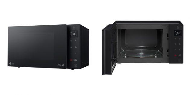 Микроволновая печь соло LG MS2535GIS