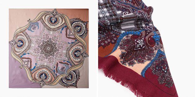 Что подарить бабушке на 8Марта: шаль или палантин