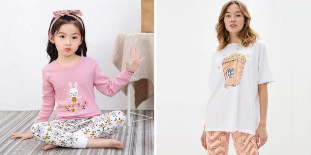 Что подарить девочке на 8Марта: пижама