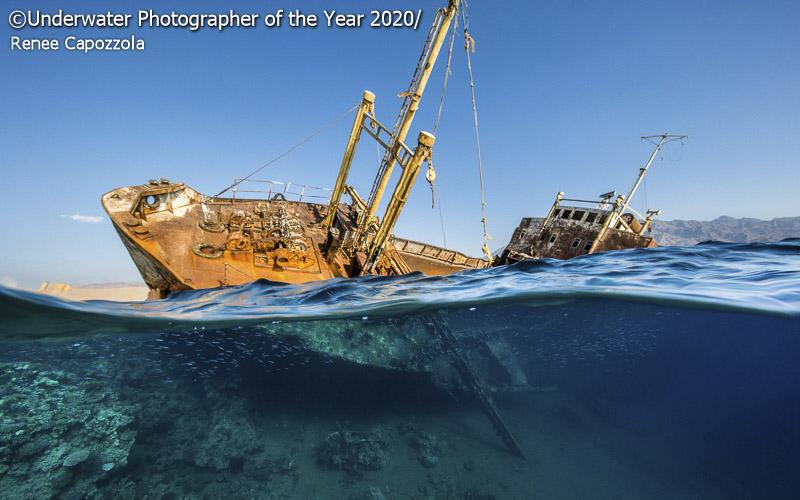 обломки кораблей под водой