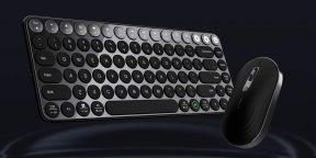 Xiaomi представила умную клавиатуру и мышку с регулировкой высоты