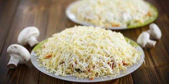10 рецептов вкусного и нежного салата «Невеста»