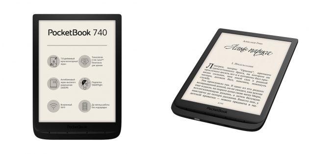 Хорошие электронные книги: PocketBook 740