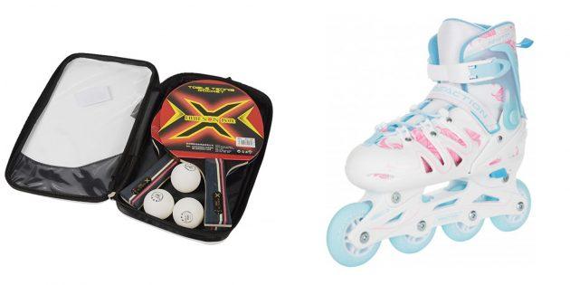Что подарить девочке на 8Марта: товары для спорта