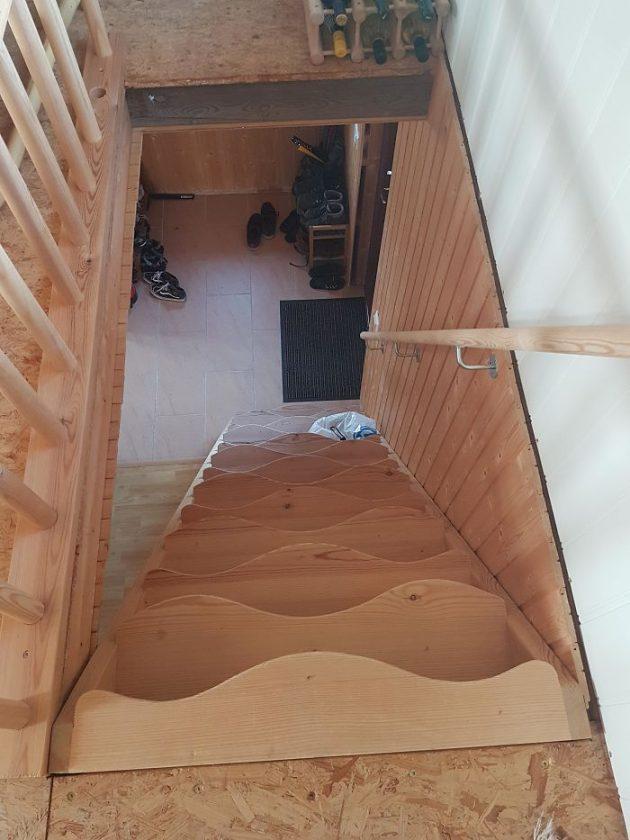 плохой дизайн лестницы