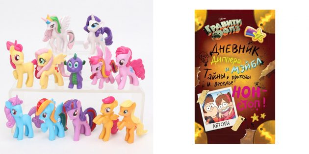 Подарки девочкам на 8Марта: Вещи с любимыми персонажами