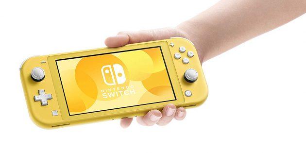 Что подарить на 23Февраля: консоль Nintendo Switch Lite