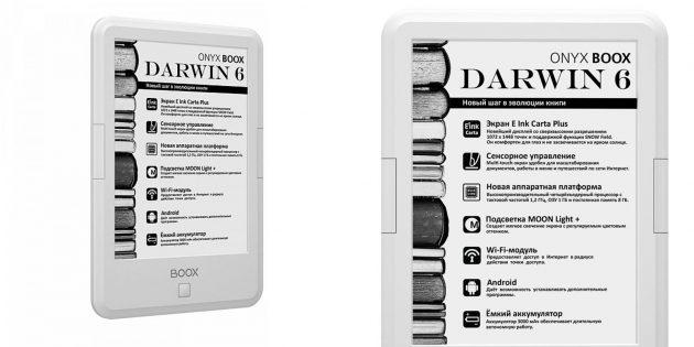 Хорошие электронные книги: Onyx Boox Darwin 6